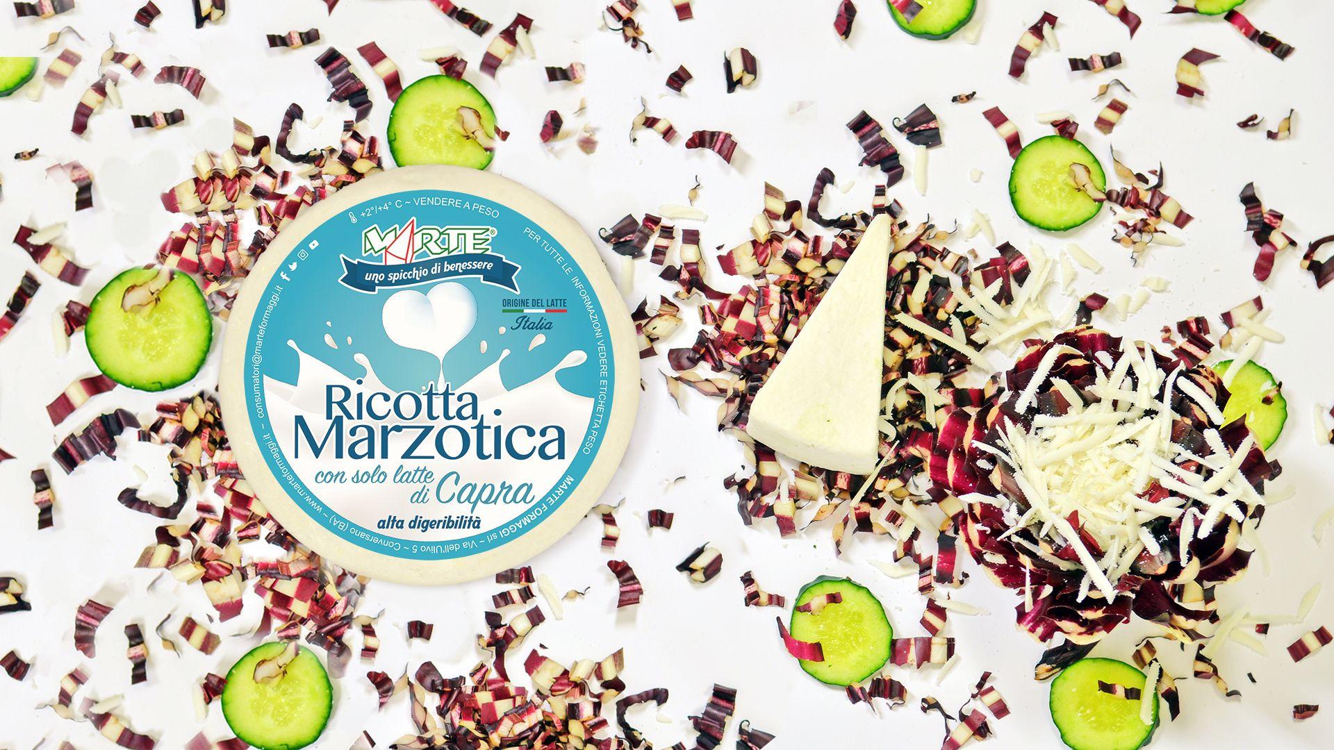 Ricotta Marzotica Toscanella di Capra