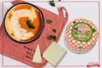 Vellutata di zucca e patate con Ricotta Marzotica Toscanella